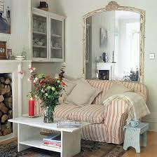 Living Room With Vintage Style Small Living Rooms Small Living - Vintage style interior design ideas