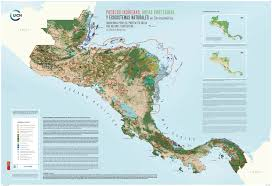 Central America And Caribbean Map by New Central America Map Highlights Indigenous Conservation The