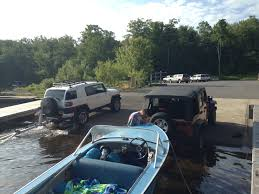 jeep boat sides island camping without a plan adirondacks new york