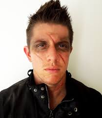 halloween makeup tutorial male post apocalyptic look post