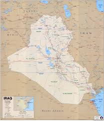 Lake Alan Henry Map Iraq Maps Perry Castañeda Map Collection Ut Library Online