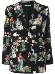 vivetta jungle print blazer 52 women clothing blazers huge