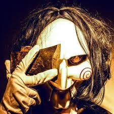 chainsaw halloween one venetian carnival halloween anonymous mask saw chainsaw killer
