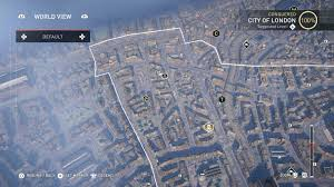 secret map assassin s creed syndicate secrets of visual guide vg247