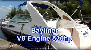bayliner 520 hp v8 two mercruiser engines tampere finland 6 8