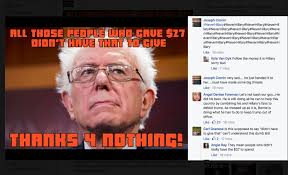 the bernie sanders meme community is freaking the fuck out
