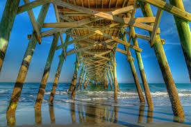 Myrtle Beach Boardwalk Map 9 Piers Along The Grand Strand In Myrtle Beach Sc Southeastern
