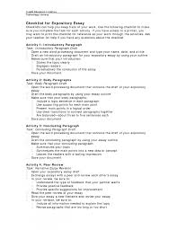 5th grade essay samples expository essay outline example expository checklist x cover letter gallery of examples of expository essay