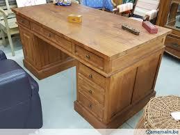 bureau teck massif bureau teck massif a vendre à nandrin 2ememain be