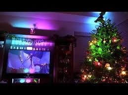 nightmare before christmas light show inside the magic living