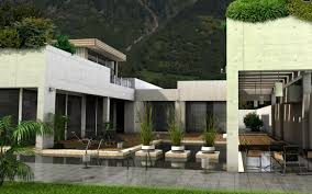 mountainside house plans cement house with pool and deck interior design ideas