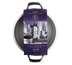 sainsburys kitchen collection buy sainsbury s home cooks collection 24cm triply stockpot at argos