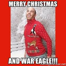 War On Christmas Meme - merry christmas and war eagle ermahgerd christmas meme