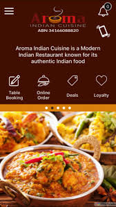 aroma indian cuisine aroma indian on the app store