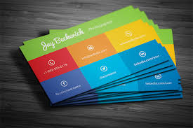 Online Business Card Maker Free Printable Visiting Card Modern Business Visiting Card Vector Design