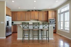 height of kitchen island of kitchens traditional light wood kitchen cabinets page 6