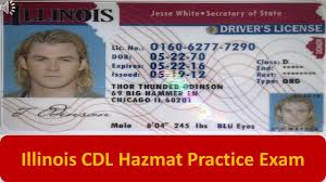 illinois cdl hazmat practice exam youtube