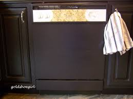 How To Paint Old Furniture by Gold Shoe How To Paint Your Dishwasher