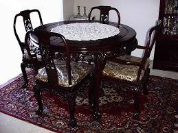 Rosewood Dining Room Set Rosewood Dining Table Set Beblincanto Tables Rosewood Dining
