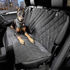 waterproof travel quilted dog car backseat large seat cover