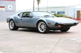 de tomaso 1973 de tomaso pantera fusion luxury motors