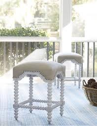 paula deen dogwood blossom kitchen stool woodstock furniture