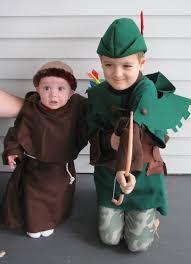 Baby Robin Halloween Costume Diy Handmade Kids Robin Hood Friar Tuck Halloween Costumes
