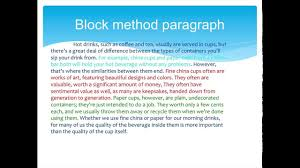 Comparison And Contrast Essays Examples Writing And Editing Services Compare And Contrast Essay Block