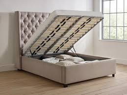 elise tall storage bed living it up