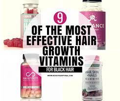 9 hair growth vitamins that actually work for black hair rockin