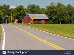 a dutch style barn on a country road in berne new york state