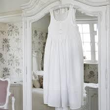 smocked cotton nightdress by mini lunn notonthehighstreet com