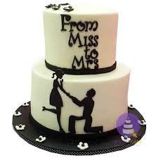 engagement cakes monochrome engagement cake www orderacake ng bridal showers