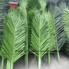 sjcl 03 large artificial palm tree leaves coconut leaves