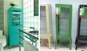 Vintage Metal Storage Cabinet Painted Medicine Cabinet Ikea Functional And Attractive Medicine