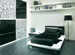 chambre noir et blanche chambre et blanche deco chambre et blanc visuel 8 a