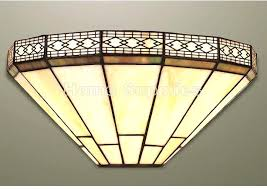 Tiffany Sconces Tiffany Wall Lights Sconces With Beautiful 2 Light Stained Glass