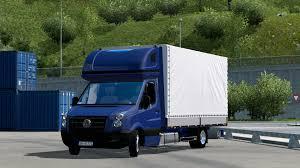 volkswagen tdi truck volkswagen crafter 2 5 tdi 1 21 x ets 2 mods euro truck