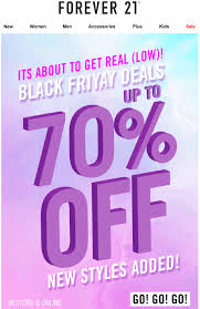 forever 21 black friday black friday campaigns that are irresistible