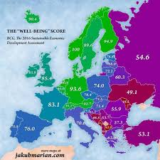 marian map jakub marian has created a map of the best european countries