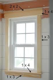 How To Install Interior Window Shutters Best 25 Window Moldings Ideas On Pinterest Window Trims
