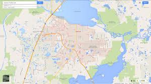 Florida Maps Sanford Florida Map