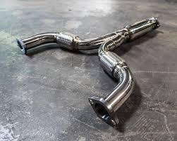 nissan 350z x pipe agency power stainless steel y pipe nissan 350z infiniti g35 03