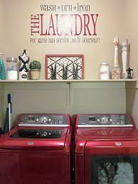 Laundry Room Accessories Decor Decorating Some Diy For The Laundry Room The Happy Housie