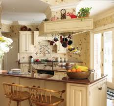 kitchens ideas pictures country cottage kitchen ideas three birch wood bar stools grey small