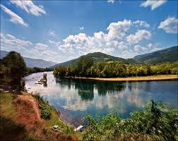 the town movie wallpapers summer landscape house in the middle of drina river near t u2026 flickr