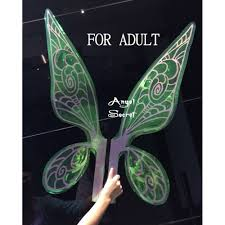 how to make wings for halloween wn1 tinkerbell fairy cosplay costume wings wedding shoot