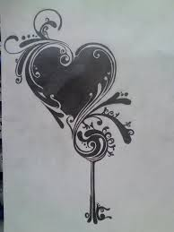 key to my heart swirl by disturbddragon on deviantart