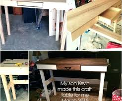 counter height craft table counter height craft desk counter height craft table with storage