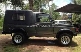 gypsy jeep automart lk registered used other maruti gypsy jeep for sale at